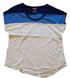Old Navy T Shirt navy, blue, white