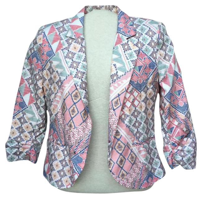 Preload https://img-static.tradesy.com/item/15254989/bar-iii-southwest-34-sleeve-blazer-size-4-s-0-6-650-650.jpg