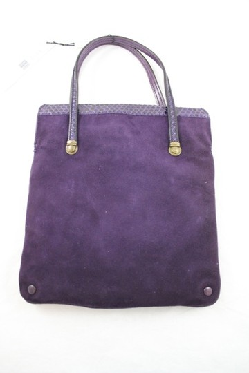 Marc Jacobs Plum Tote in Deep Purple
