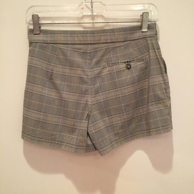 Banana Republic Mini/Short Shorts Grey plaid Image 1
