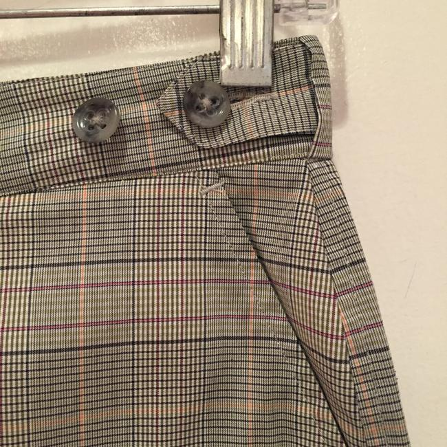 Banana Republic Mini/Short Shorts Grey plaid Image 3
