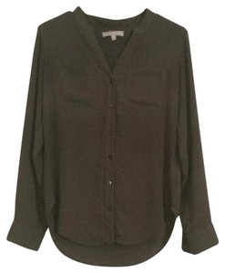 Banana Republic Button Down Shirt Military green