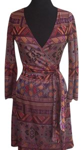 Diane von Furstenberg short dress Wrap DVF on Tradesy