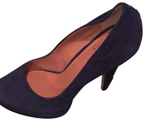 Vince Camuto Navy Blue Platforms
