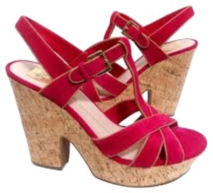 Dolce Vita Hot Pink Platforms