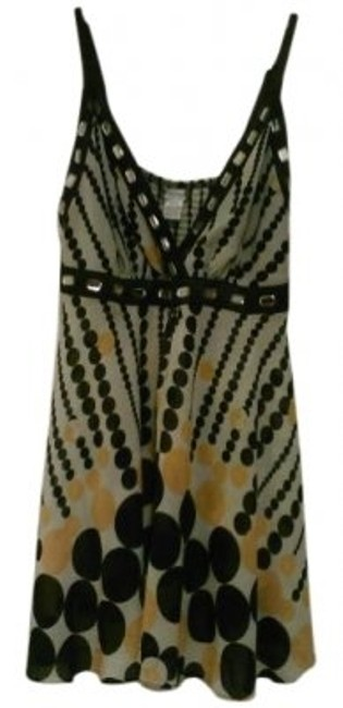 Preload https://item2.tradesy.com/images/yellow-black-and-white-poca-dots-mini-night-out-dress-size-18-xl-plus-0x-15256-0-0.jpg?width=400&height=650