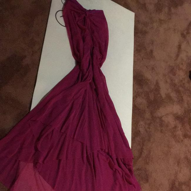 Ruby red Maxi Dress by Jean Paul Gautier Image 7