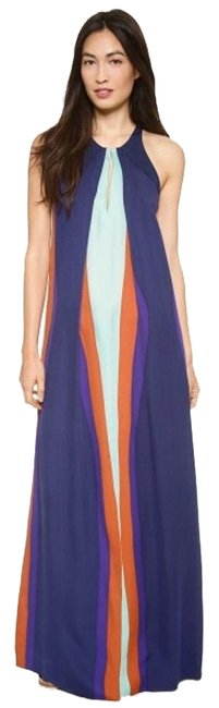 Item - Purple/Mint/Claret Jordan Long Casual Maxi Dress Size 0 (XS)