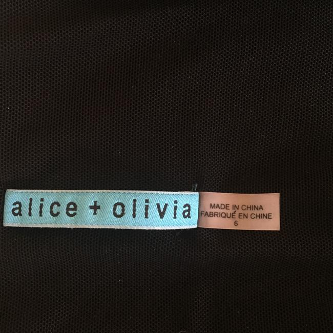 Alice + Olivia short dress Black on Tradesy Image 8
