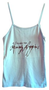 Bella Spaghetti Strap Kenny Loggins Top light blue
