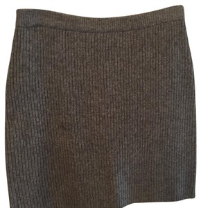 Moda International Mini Skirt Gray