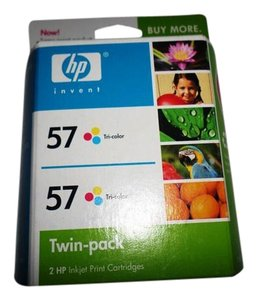 Other hp 57 twin pack c9320fn 140 color tri color ink