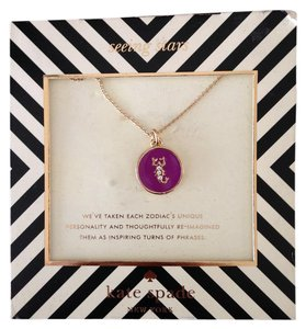 Kate Spade Scorpio Horoscope Necklace