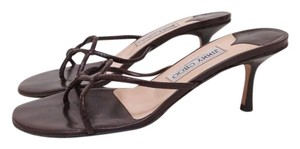 Jimmy Choo Pristine Condition Yummy Chocolate Brown Sandals