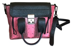 3.1 Phillip Lim Satchel in Black And Pink