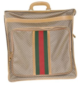 Gucci tan monogram canvas Travel Bag