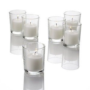 60 Clear Glass Votive Holders