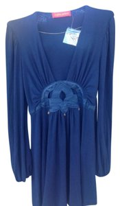 Ingwa Melero short dress NAVY BLUE on Tradesy