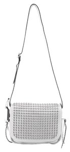 Coach Flap Over Stud Cross Body Bag