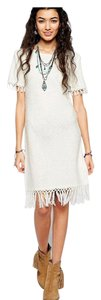 ASOS short dress White Festival Fringe Summer on Tradesy