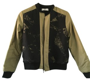 Other Black and Olive Green Jacket