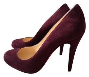 Christian Louboutin Pump Round-toe Lie de vin (wine) Pumps