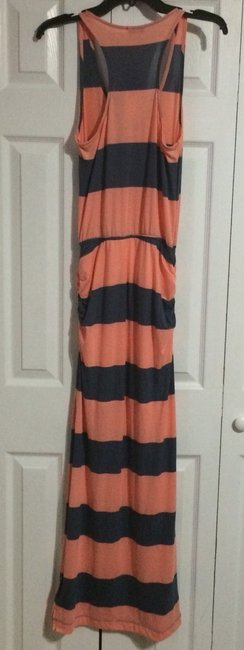 Coral/Blue Maxi Dress by Splendid
