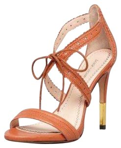 Pour La Victoire Leather Brown / Cognac Sandals