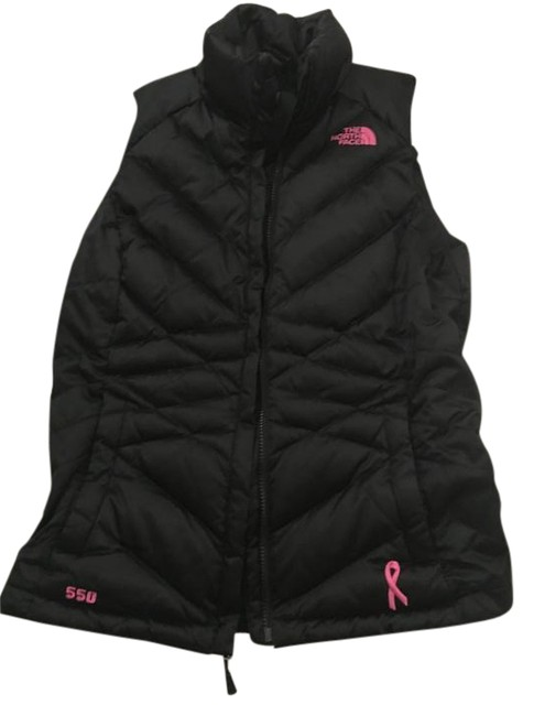 Item - Black and Pink - Breast Cancer Edition Vest Size 4 (S)