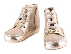 Michael Kors Baby High Tops Gold Athletic