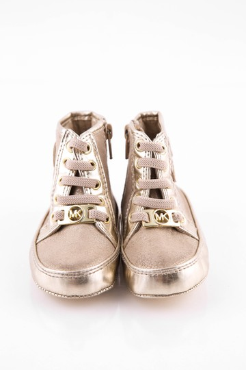 Michael Kors Baby High Tops Gold Athletic Image 1