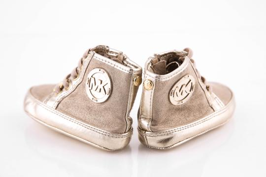 Toddler Gold High Top Sneakers