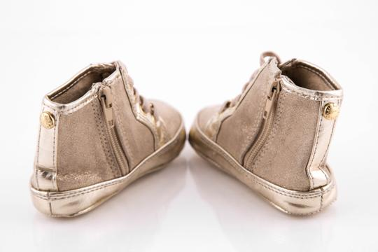 Michael Kors Baby High Tops Gold Athletic Image 4