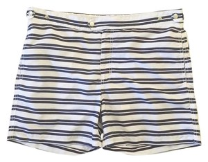 Solid & Striped Solid & Striped Navy & White Stripe Swim Trunks