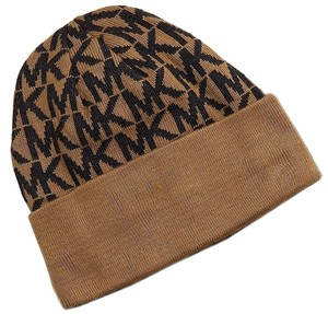 Michael Kors MICHAEL KORS HAT 100% Authentic * Brand new with tag MK Logo Hat Camel / Gray
