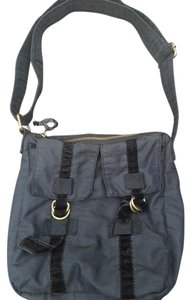Gap Velvet Shoulder Bag