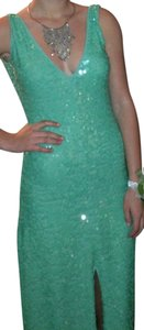 BCBGMAXAZRIA Sequin Fitted Dress