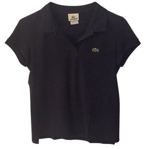 Lacotse T Shirt Navy Blue
