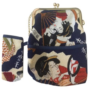 Geisha Coin Purse Baguette