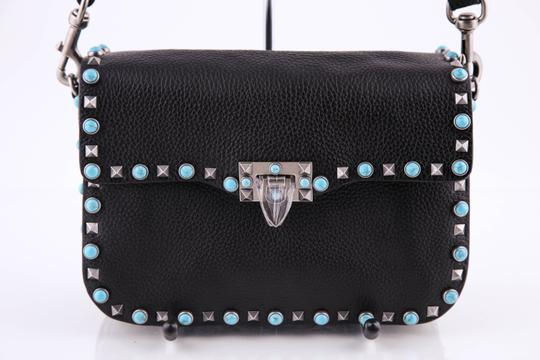 Valentino Leather Black/Mulitcolor Cross Body Bag Image 3