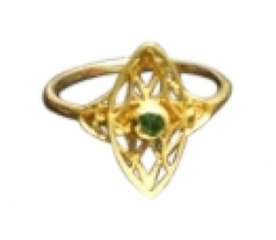 Unknown Emerald birthstone ring