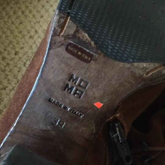 MO MA Made in Italy 39 Redish | Brown Boots Image 11