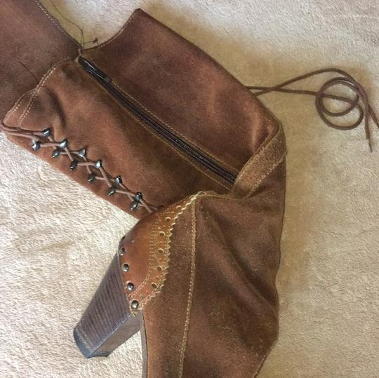 MO MA Made in Italy 39 Redish | Brown Boots Image 6