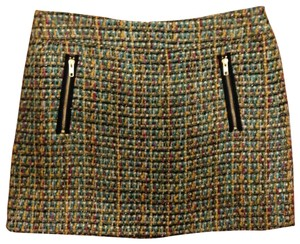 J.Crew Tweed Size 12 Mini Skirt Multi