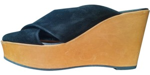 Robert Clergerie Vintage Black Wedges