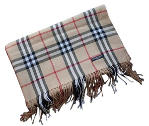 Burberry London Burberry Plaid Pashmina Style Scarf