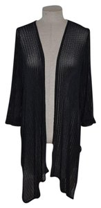Chico's Open Knit Draped Travelers Resort Casual Cardigan