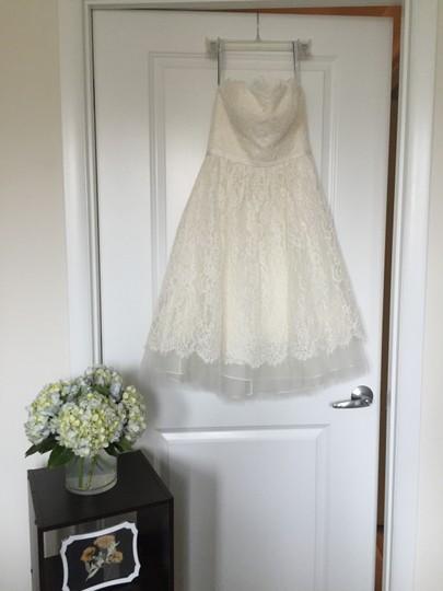 Jenny Yoo Soft White/Cream Lace and Tulle