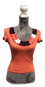 Moschino Top Orange