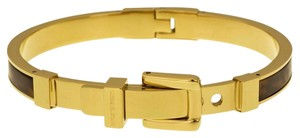 Michael Kors Michael Kors Buckle Bangle - Tortoise/ Golden brass hardware MKJ1674-710